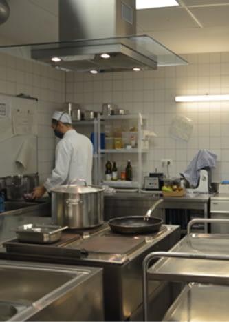 Personnel cuisinier des crèches